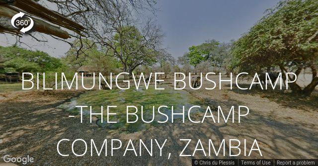 Bilimungwe Bushcamp 360 View