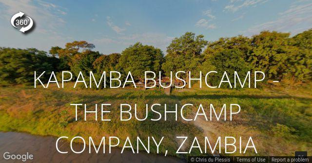 Kapamba Bushcamp 360 View
