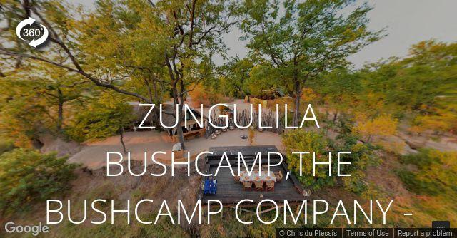 Zungulila Bushcamp 360 View