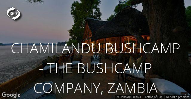 Chamilandu Bushcamp 360 View